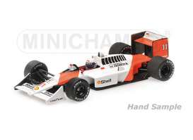 McLaren Honda - 1988 white/orange - 1:43 - Minichamps - mc537884311 | The Diecast Company
