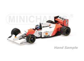 McLaren Honda - 1993 white/orange - 1:43 - Minichamps - mc537934307 | The Diecast Company