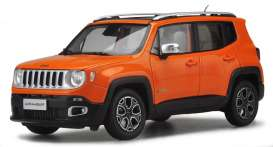 Bburago - Jeep  - bura30385O : 1/43 Jeep Renegade, orange