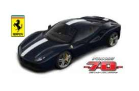 Ferrari  - dark blue/white - 1:24 - Bburago - bura76201 | The Diecast Company