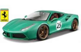 Ferrari  - green metallic - 1:18 - Bburago - 76101 - bura76101 | The Diecast Company