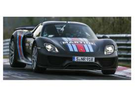 Porsche  - 2015 black/red/blue - 1:43 - Minichamps - mc410062137 | The Diecast Company