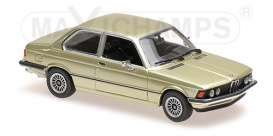 BMW  - 1975 green metallic - 1:43 - Maxichamps - 940025470 - mc940025470 | The Diecast Company