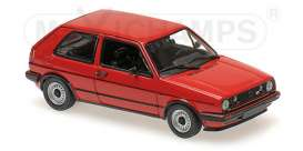 Volkswagen  - 1985 red - 1:43 - Maxichamps - mc940054121 | The Diecast Company