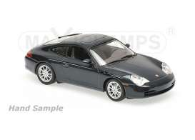 Porsche  - 2001 black - 1:43 - Maxichamps - 940061020 - mc940061020 | The Diecast Company