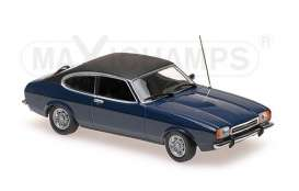 Ford  - 1974 dark blue - 1:43 - Maxichamps - 940081201 - mc940081201 | The Diecast Company