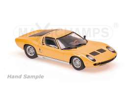 Maxichamps - Lamborghini  - mc940103001 : 1966 Lamborghini Miura, orange