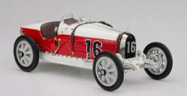 Bugatti  - 1924 red/white - 1:18 - CMC - 100-007 - cmcB007 | The Diecast Company