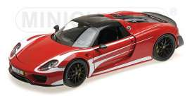 Porsche  - 2013 red/white - 1:18 - Minichamps - 110062442 - mc110062442 | The Diecast Company
