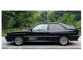 Minichamps - Audi  - mc155016121 : 1980 Audi Quattro, black metallic