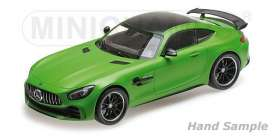 Mercedes Benz  - 2017 green - 1:18 - Minichamps - 155036020 - mc155036020 | The Diecast Company