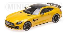 Mercedes Benz  - 2017 yellow - 1:18 - Minichamps - 155036021 - mc155036021 | The Diecast Company