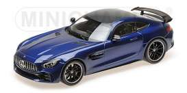 Mercedes Benz  - 2017 blue metallic - 1:18 - Minichamps - 155036022 - mc155036022 | The Diecast Company