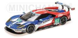Ford  - 2016 blue/red/white - 1:18 - Minichamps - 155168667 - mc155168667 | The Diecast Company