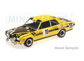 Opel  - 1970 yellow/black - 1:18 - Minichamps - mc155704610 | The Diecast Company