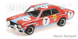 Opel  - 1972 orange - 1:18 - Minichamps - 155724607 - mc155724607 | The Diecast Company