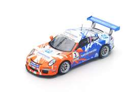 Porsche  - 2016 blue/orange - 1:43 - Spark - UK001 - spaUK001 | The Diecast Company