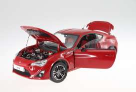 Toyota  - GT86 2014 lightning red - 1:18 - Dorlop - dorCD1806Br | The Diecast Company