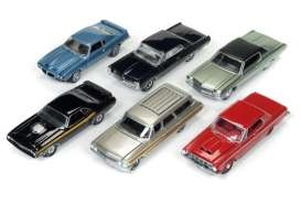 Auto World - Assortment/ Mix  - AW64052D~6 : 1/64 Autoworld Premium series mix of 6.