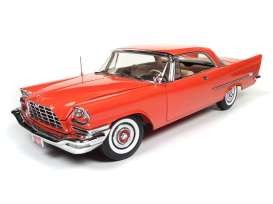 Chrysler  - 1957 red - 1:18 - Auto World - AMM1110 | The Diecast Company