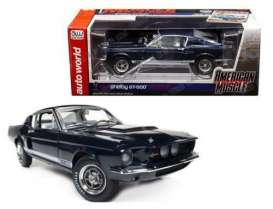 Shelby  - 1967 blue - 1:18 - Auto World - AMM1111 | The Diecast Company