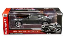 Chevrolet  - Camaro SS 50th Anniversary 2017 grey metallic - 1:18 - Auto World - AW243 - AW243 | The Diecast Company