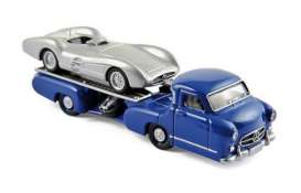 Mercedes Benz  - blue/silver - 1:64 - Norev - nor311000 | The Diecast Company