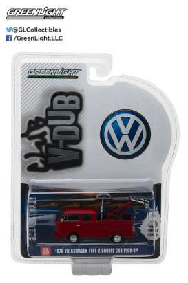 GreenLight - Volkswagen  - gl29870E : 1976 Volkswagen Type 2 Double Cab Pickup Ladder Truck *Club Vee-Dub series 5*