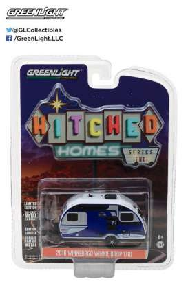 GreenLight - Winnebago  - gl34020D : 2016 Winnebago Winnie Drop *Hitched homes series 2*, blue
