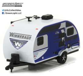 Winnebago  - 2016 blue - 1:64 - GreenLight - gl34020D | The Diecast Company