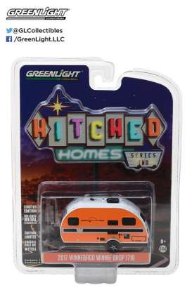 GreenLight - Winnebago  - gl34020E : 2017 Winnebago Winnie Drop *Hitched homes series 2*, orange