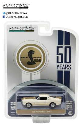 GreenLight - Shelby  - gl27920A : 1967 Shelby GT500 Shelby America 50th Anniversary *Anniversary Collection Series 5*