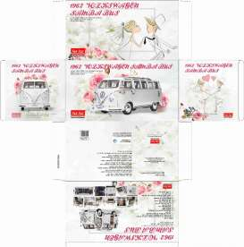 Volkswagen  - Samba bus T1 1949 white - 1:12 - SunStar - 5085 - sun5085 | The Diecast Company