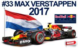 Red Bull Racing   - 2017 blue/red/yellow - 1:43 - Bburago - bura332017-43 | The Diecast Company