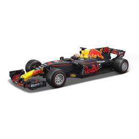 Bburago - Red Bull Racing   - bura18002V-18 : 2017 Red Bull RB13 F1 #33 M.Verstappen, blue/red/yellow