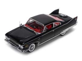 Plymouth  - 1960 black/red - 1:18 - SunStar - 5423 - sun5423 | The Diecast Company