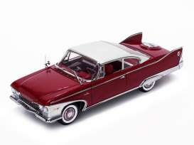 Plymouth  - 1960 plum red - 1:18 - SunStar - 5424 - sun5424 | The Diecast Company