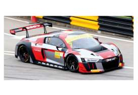 Audi  - R8 2016 white/red/grey - 1:43 - Minichamps - 437161107 - mc437161107 | The Diecast Company