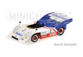 Porsche  - 1974 white/blue/red - 1:43 - Minichamps - 437746502 - mc437746502 | The Diecast Company