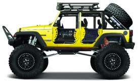 Maisto - Jeep  - mai32523y : 2015 Jeep Wrangler Unlimited SE Trucks, yellow