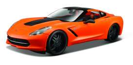 Chevrolet  - 2014 orange - 1:24 - Maisto - mai32510o | The Diecast Company