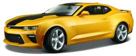 Chevrolet  - 2016 yellow - 1:18 - Maisto - 31689y - mai31689y | The Diecast Company