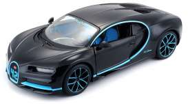 Bugatti  - 2015 black/grey - 1:24 - Maisto - mai31514bk | The Diecast Company