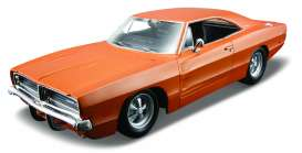 Maisto - Dodge  - mai31387o : 1969 Dodge Charger R/T, orange