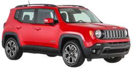 Maisto - Jeep  - mai31282r : 1/24 Jeep Renegade, red