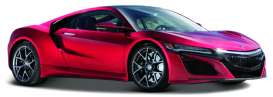 Acura  - NSX 2017 red - 1:24 - Maisto - mai31234r | The Diecast Company
