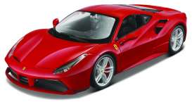 Ferrari  - red - 1:24 - Maisto - mai39131 | The Diecast Company