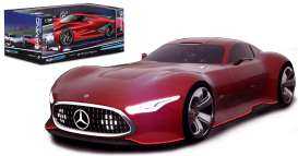 Mercedes Benz  - red - 1:32 - Maisto - mai22302-16952r | The Diecast Company