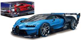 Bugatti  - blue/black - 1:32 - Maisto - mai22302-16902b | The Diecast Company