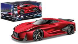 Nissan  - red - 1:32 - Maisto - 22302-16901r - mai22302-16901r | The Diecast Company